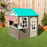 Vízparti házikó, kerti játszóház - Kidkrfat - Könnyű, gyors összeállítás