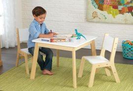 Modern asztal és két szék, Kidkraft
