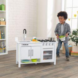 Kis szakács munkaasztal játékkonyha, Kidkraft