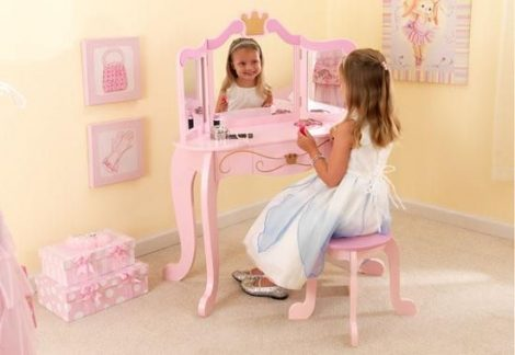Hercegnő Pipereasztal és szék - Kidkraft