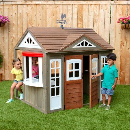 Szép kilátás kerti játszóház, Kidkraft - Könnyű gyors öszeállítás