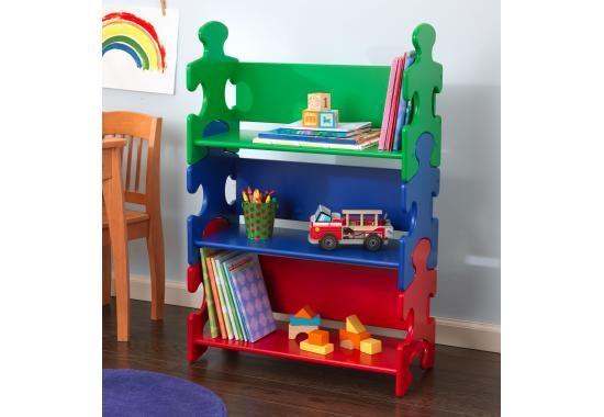 Image of Puzzle játékpolc - színes, Kidkraft